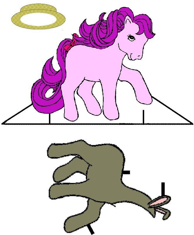 Как сделать мою маленькую пони 858