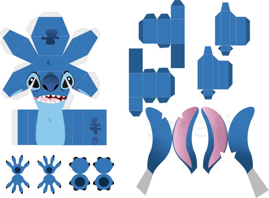Pics Photos - Lilo Stitch Stitch Free Papercraft Download